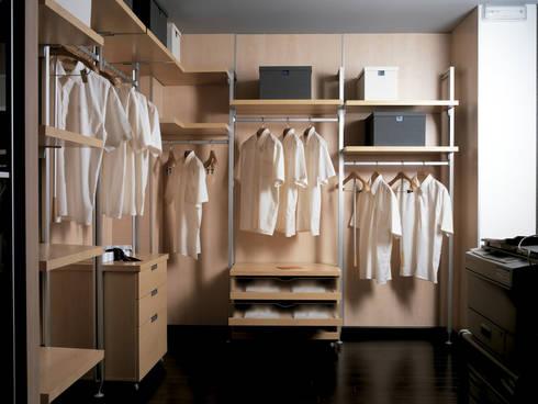 Sistemas Inteligentes: Vestidores de estilo minimalista por WARDROBE