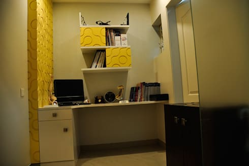 3BHK Royal Heritage, Bhubaneswar: modern Study/office by Schaffen Amenities Private Limited