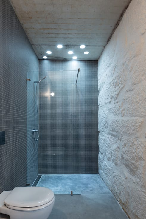 浴室 by a*l - alexandre loureiro arquitectos