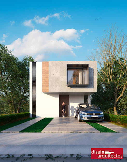 Casa Nõbu: Casas de estilo  por disain arquitectos