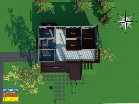 งานฐานรากบ้านโครงสร้างเหล็กสองชั้น พันเอก กลชาญ กมลศุภเชาว์:   by บริษัทเข็มเหล็ก จำกัด