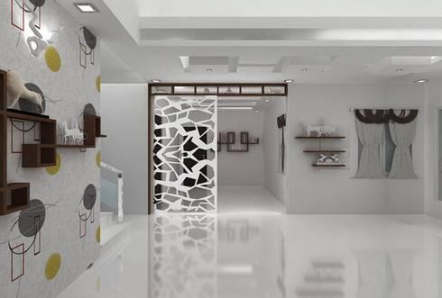 duplex:   by Splendid Interior & Designers Pvt.Ltd