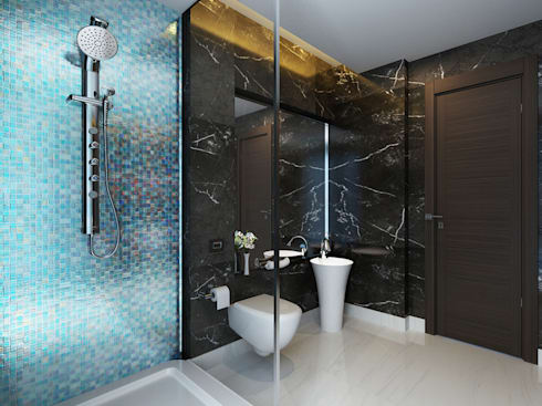 modern Bathroom by Koncept Architects & Interior Designers,