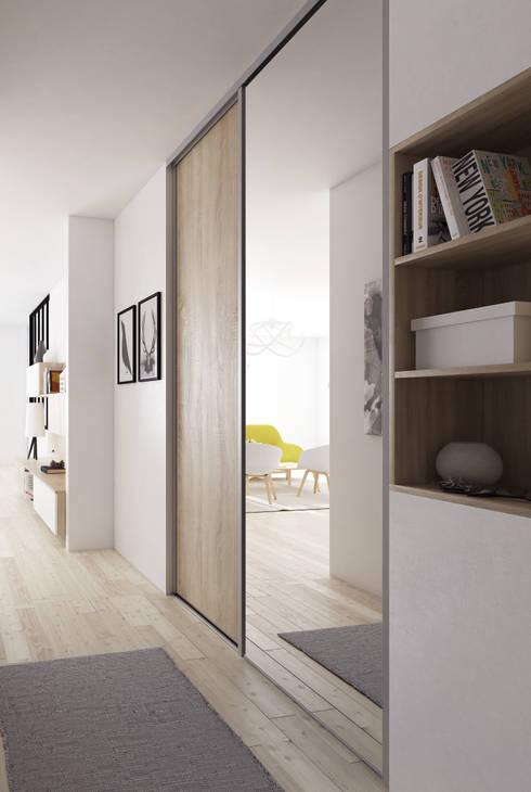 Ingresso, Corridoio & Scale in stile  di MKL
