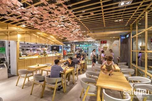 Neta fish and meat @ The street Rachada:  ตกแต่งภายใน by  good space  plus interiror- architect co.,ltd