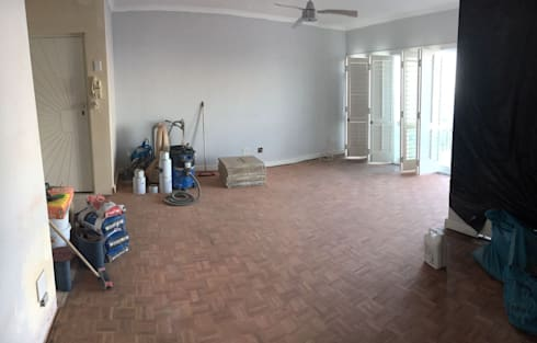 Before :  Walls by Cornerstone Projects