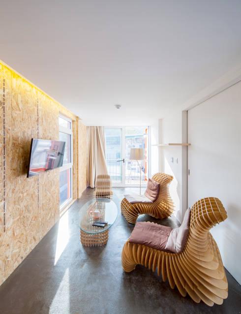 Projekty,  Pokój multimedialny zaprojektowane przez Design Guild