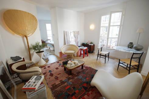 Rénovation appartement Paris, quartier Montmartre par Grazia ...