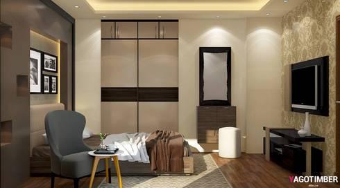 Bedroom-Design-view-1: eclectic Bedroom by Yagotimber.com