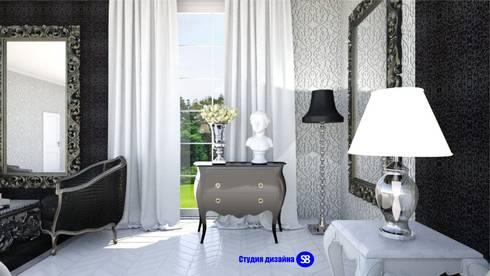 Bedroom in art-deco style: classic Bedroom by 'Design studio S-8'