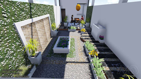 Roof Top Landscape:  Terrace by MAD Studios
