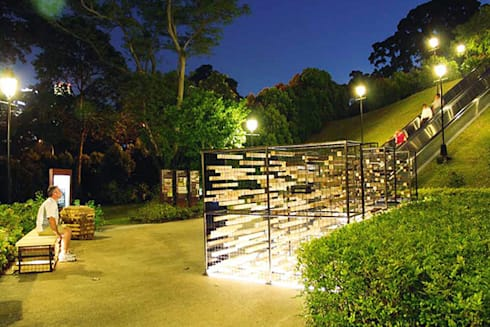 Art+Architecture Collaborative Work:  Artwork by Quen Architects