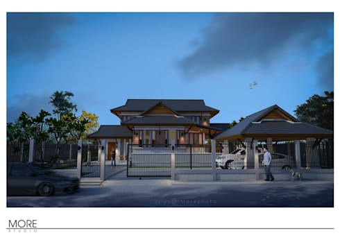 House@Muak lek ,Saraburi ,Thailand:   by Morestudio