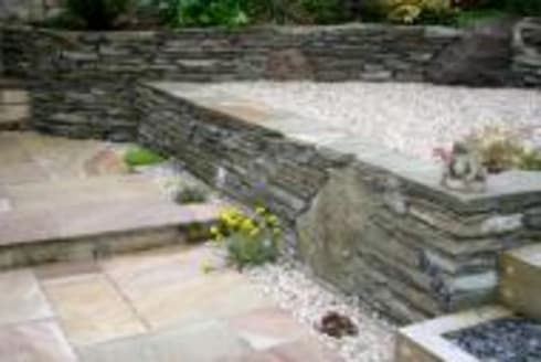 Garden design and garden landscaping project in Edinburgh by