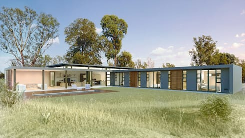 Bach Village - Monaghan Farm: modern Houses by REIS