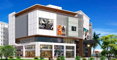 Mall & Multiplex:  Offices & stores by HSR Venutures