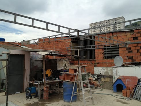 ESTRUCTURA: Terrazas de estilo  por construrem c.j.111 c.a