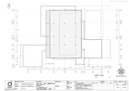 Roof plan:   by บริษัท ดิปเปอร์ อาร์คิเทค ดีไซน์ จำกัด