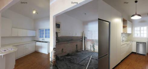 Kitchen Renovation: modern Kitchen by Trait Decor