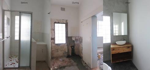 Main Bathroom Renovation: modern Bathroom by Trait Decor