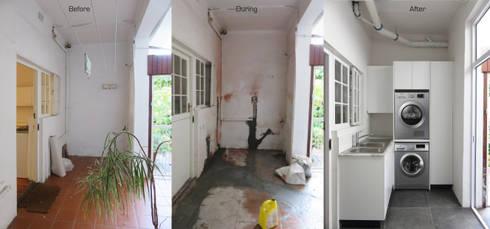 Scullery Renovation: modern Kitchen by Trait Decor