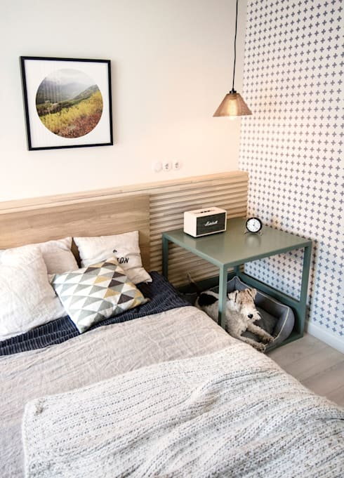 Dormitorios de estilo escandinavo por INT2architecture