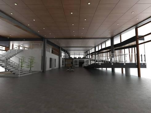 Terminal de Cruceros:  de estilo  por Power Renders