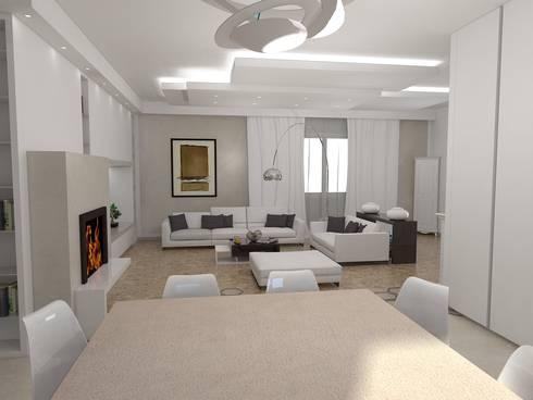 Progetto angolo cottura e Living di Arch. STEFANELLI Gabriella | homify