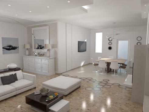 Progetto angolo cottura e Living di Arch. STEFANELLI Gabriella ...