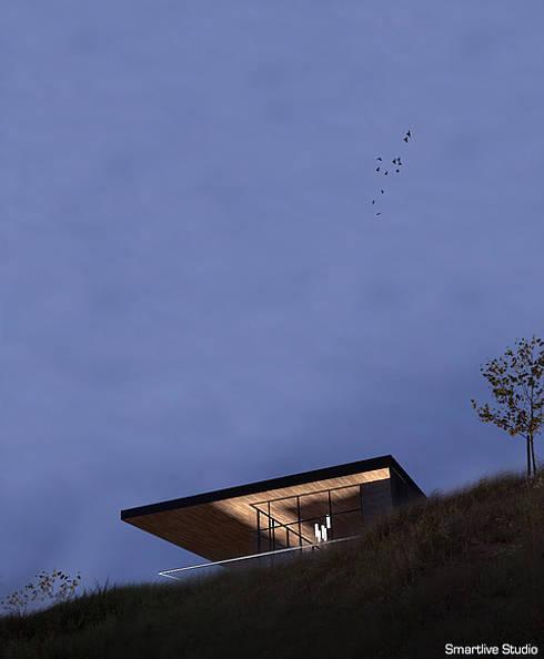 Casa Pop Up, Tumán: Casas de estilo moderno por Smartlive Studio