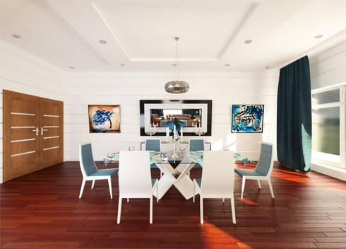 Dining Room:  غرفة السفرة تنفيذ OS Line