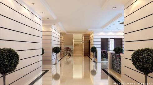 3D Designs By Mirva Vora Designs.:  Corridor & hallway by Mirva Vora Designs