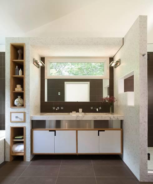 modern Bathroom by Eisner Design