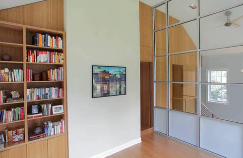 modern Study/office by Eisner Design
