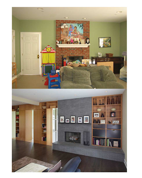 Living room by Eisner Design