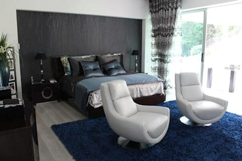 INTERIOR: Habitaciones de estilo moderno por IngeniARQ