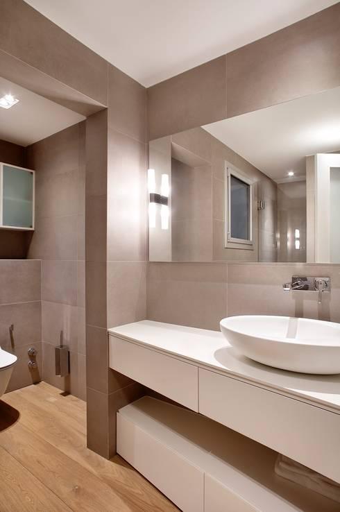 Bagno in stile  di 02_BASSO Arquitectos