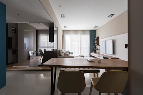   Mr. coriander's home  :  餐廳 by 賀澤室內設計 HOZO_interior_design