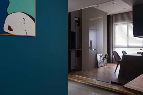   Mr. coriander's home  :  書房/辦公室 by 賀澤室內設計 HOZO_interior_design