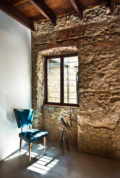 Salas de estilo rústico por Espaço Tania Chueke