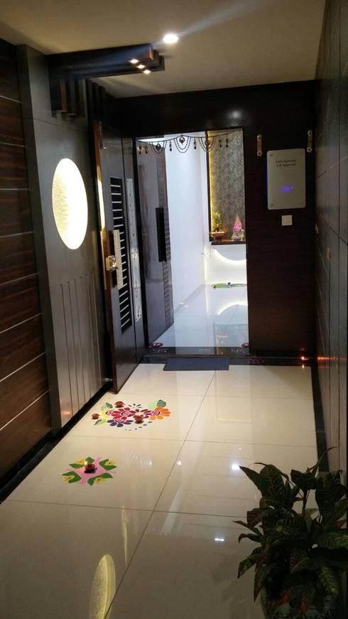 Entrance:   by Ar. Ananya Agarwal