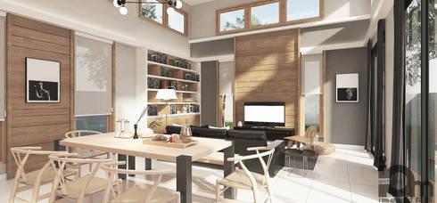 งานตกแต่งภายในบ้านคุณสุภาณี วัฒนศาสตร์:   by i am architect CO.,Ltd.