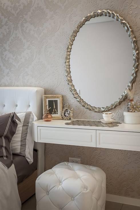 化妝桌:  臥室 by 你你空間設計