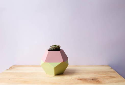.Poly: Hogar de estilo  por Fabric3D