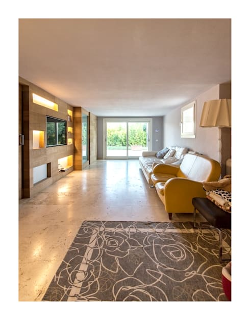Projekty,  Pokój multimedialny zaprojektowane przez Zeno Pucci+Architects