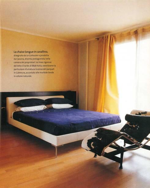 Projekty,  Sypialnia zaprojektowane przez Zeno Pucci+Architects