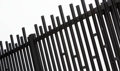 metalwork detail:  Schools by Till Manecke:Architect