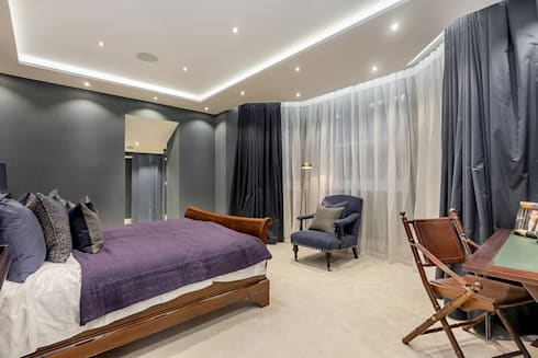 House renovation in Holland park: modern Bedroom by APT Renovation Ltd