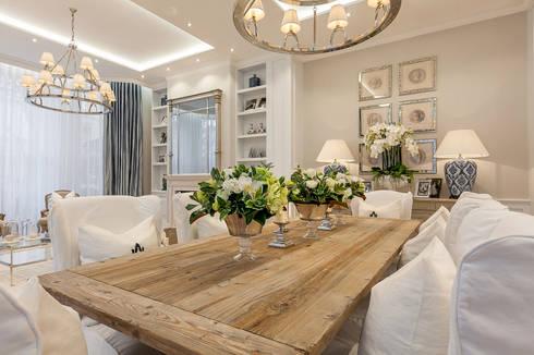 House renovation in Holland park: modern Kitchen by APT Renovation Ltd