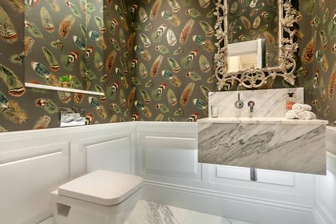House renovation in Holland park: modern Bathroom by APT Renovation Ltd